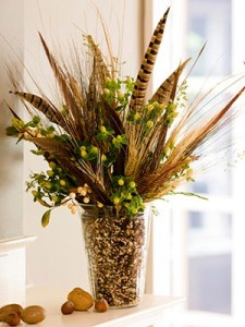 midwest living grass-corn vase